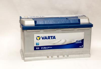Купить аккумулятор VARTA 595 402 080 BlueDynamic в Волгограде