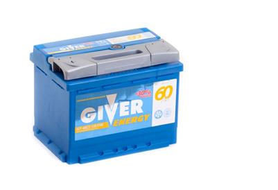 Купить аккумулятор GIVER ENERGY 6СТ-60 о.п. в Волгограде