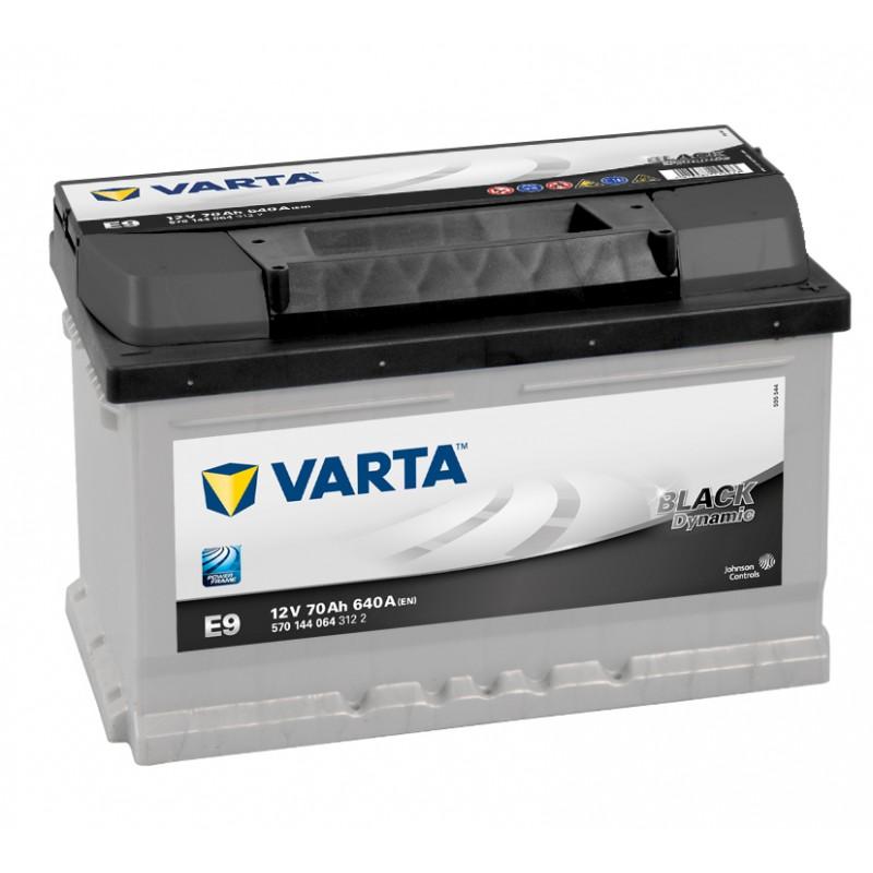 Аккумулятор VARTA 6СТ-70.0 (570 144 064) Black Dynamic низкий купить в Волгограде