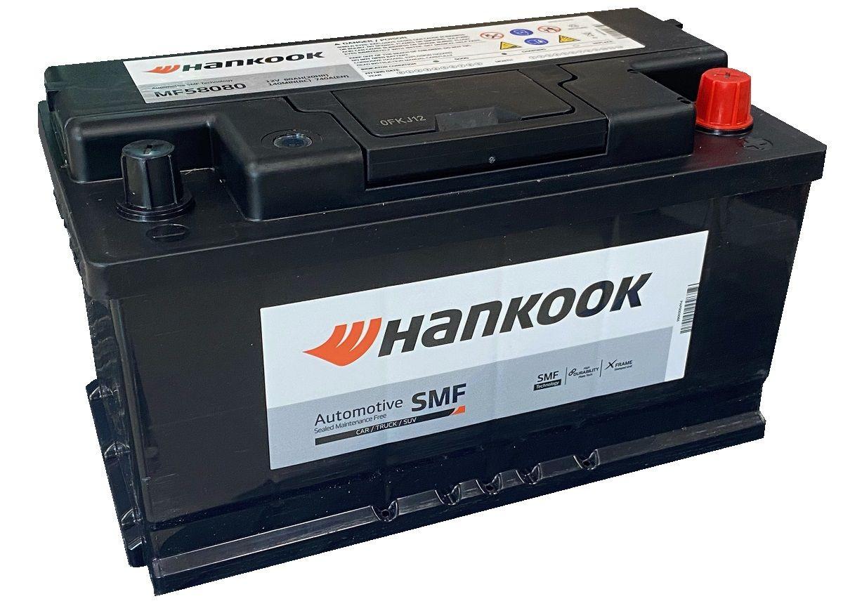 Аккумулятор HANKOOK 6СТ-80.0 (58580) низкий купить в Волгограде