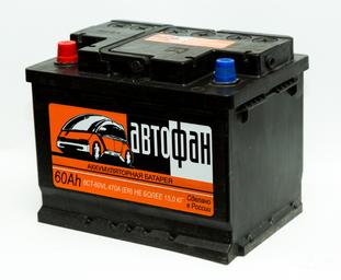 Купить аккумулятор АВТОФАН 6СТ-60 в Волгограде