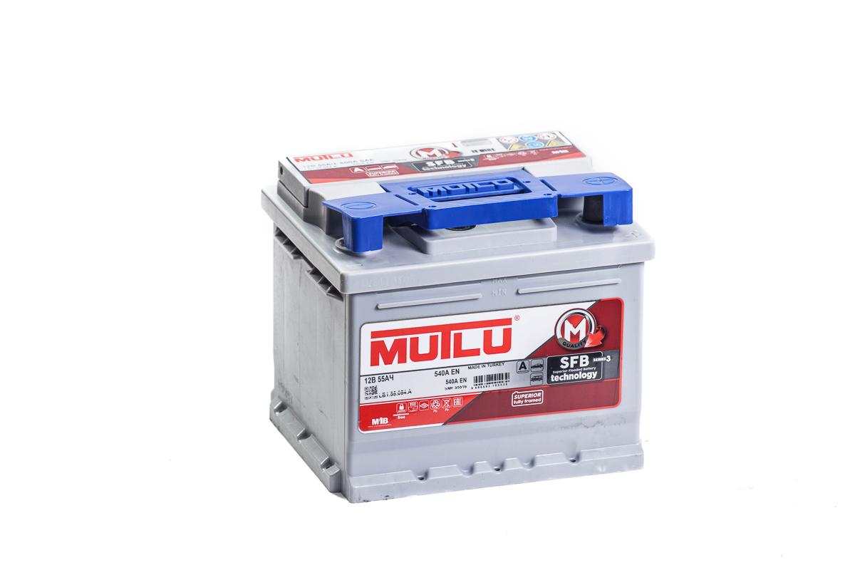 Купить аккумулятор MUTLU М3 6СТ-55.0 низкий в Волгограде