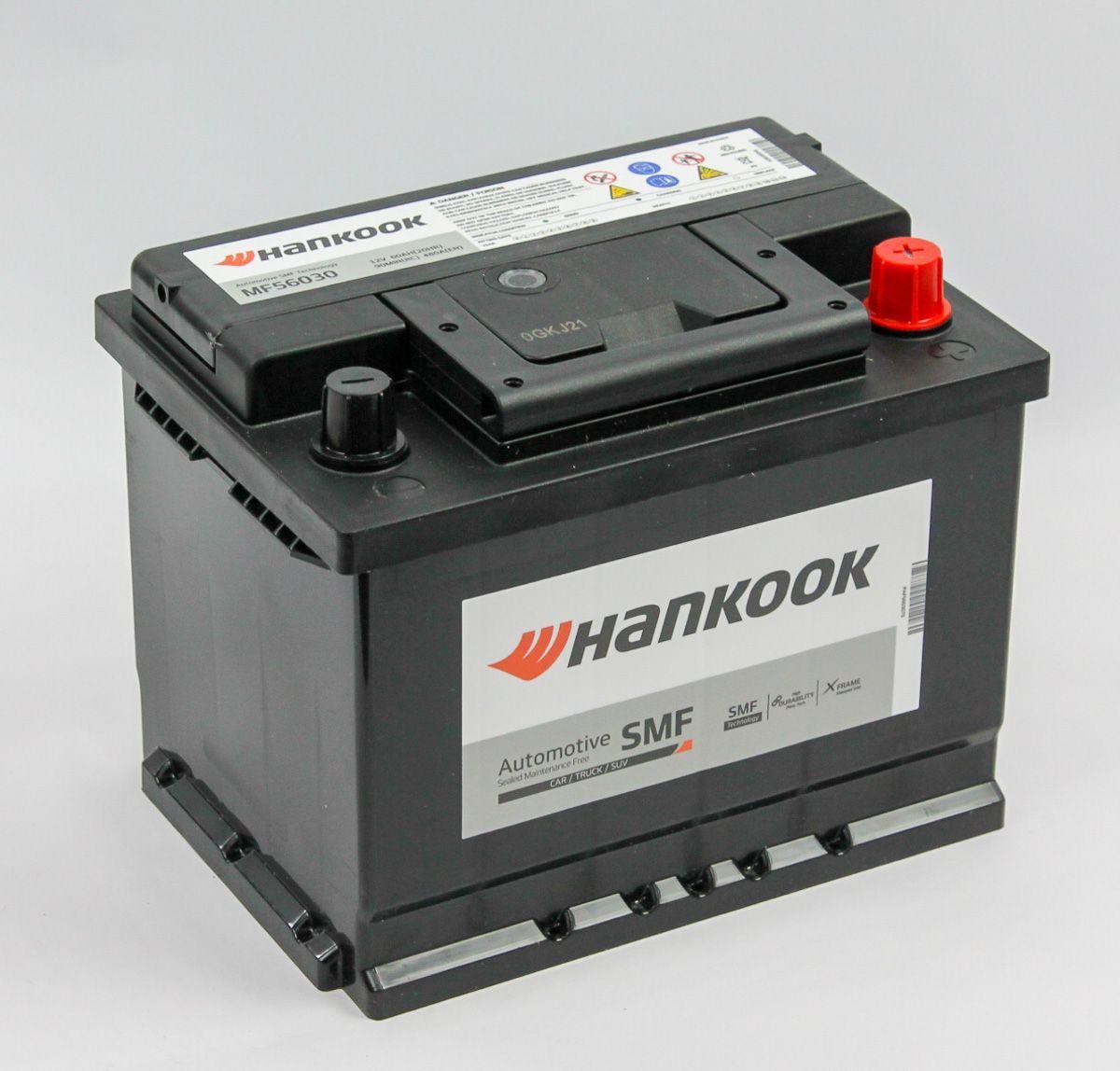 Аккумулятор HANKOOK 6СТ-60.0 (56030) купить в Волгограде