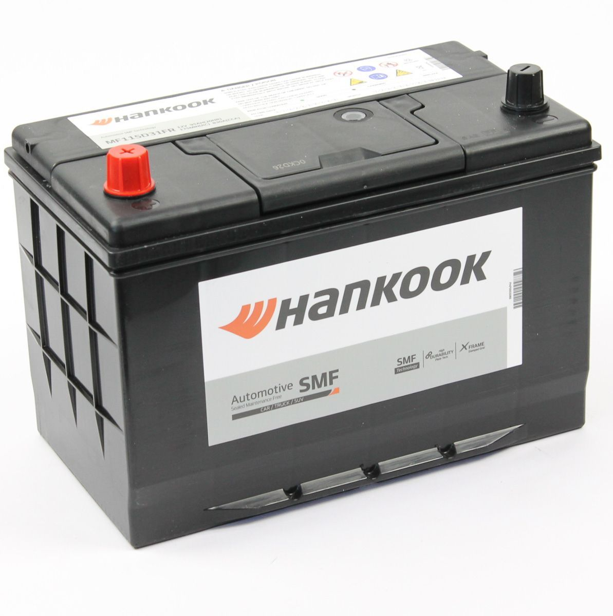 Аккумулятор HANKOOK 6СТ-95.1 (115D31R) купить в Волгограде