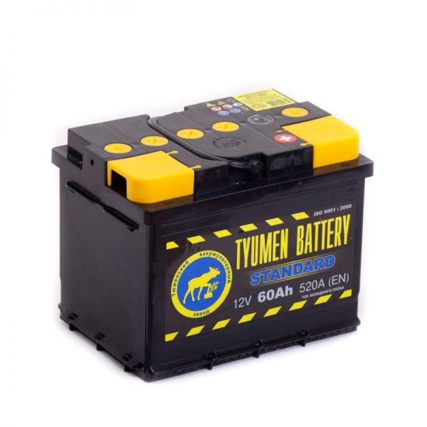 Купить аккумулятор TYUMEN BATTERY Standart 6СТ-60 в Волгограде