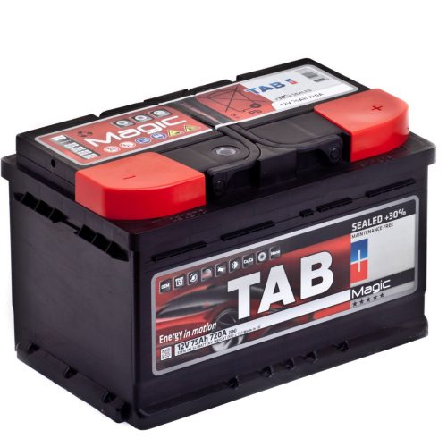 Купить аккумулятор TAB MAGIC 6СТ-75 о.п. низкий в Волгограде
