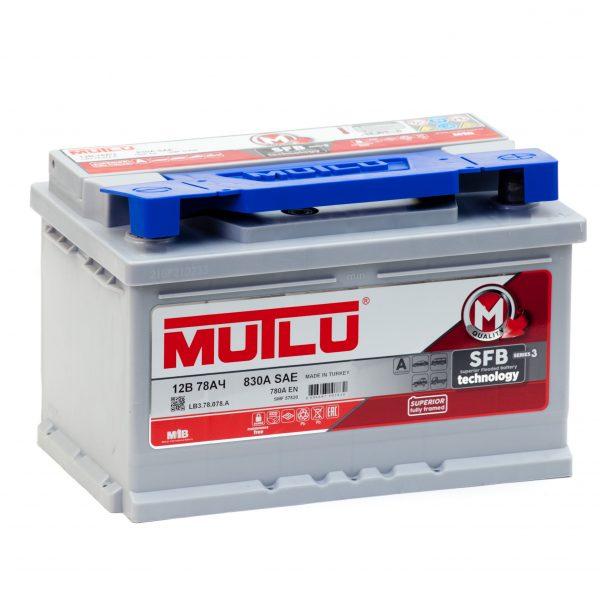 Купить аккумулятор MUTLU M3 6СТ-78 в Волгограде