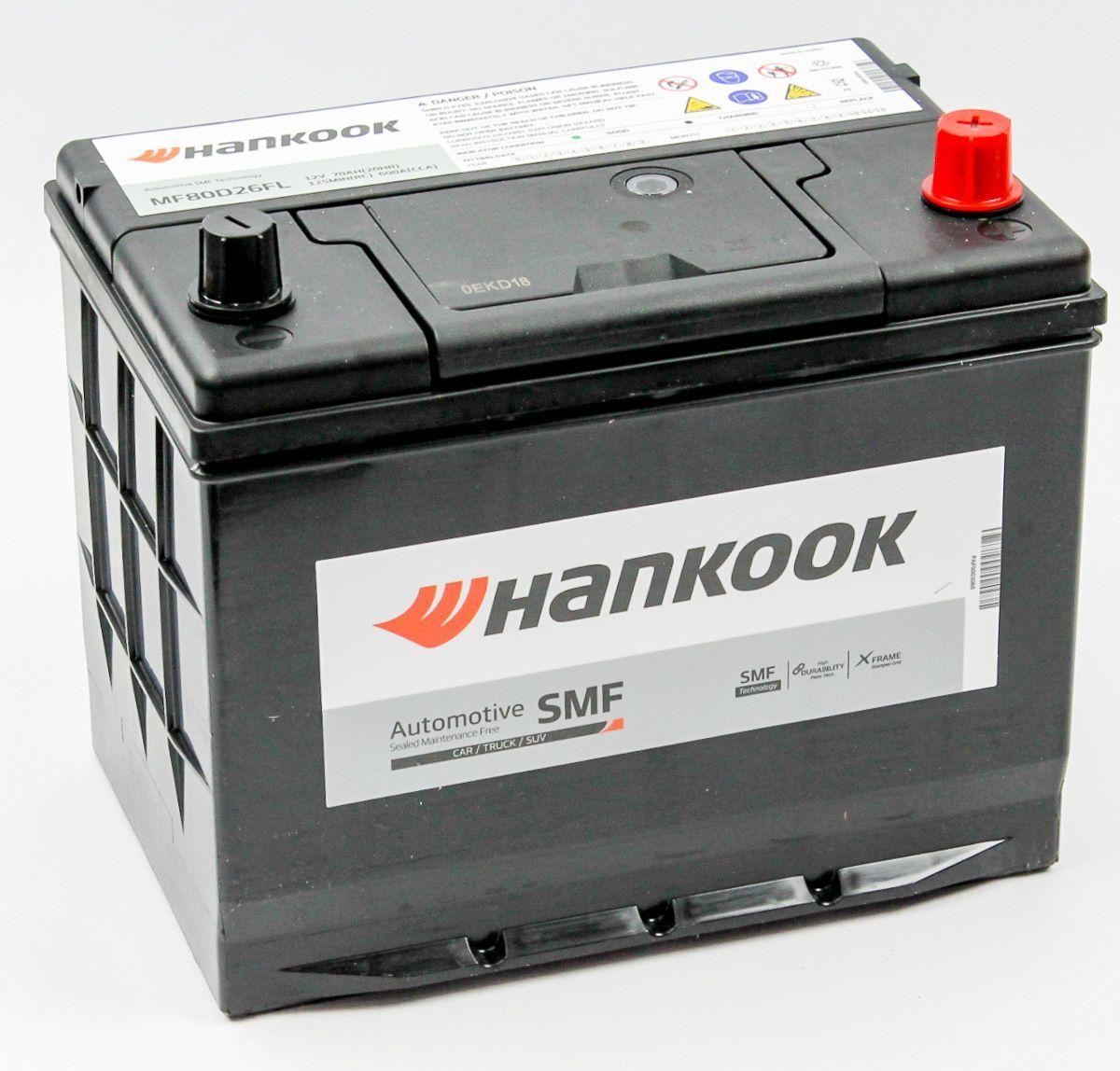 Купить аккумулятор HANKOOK 80D26L в Волгограде