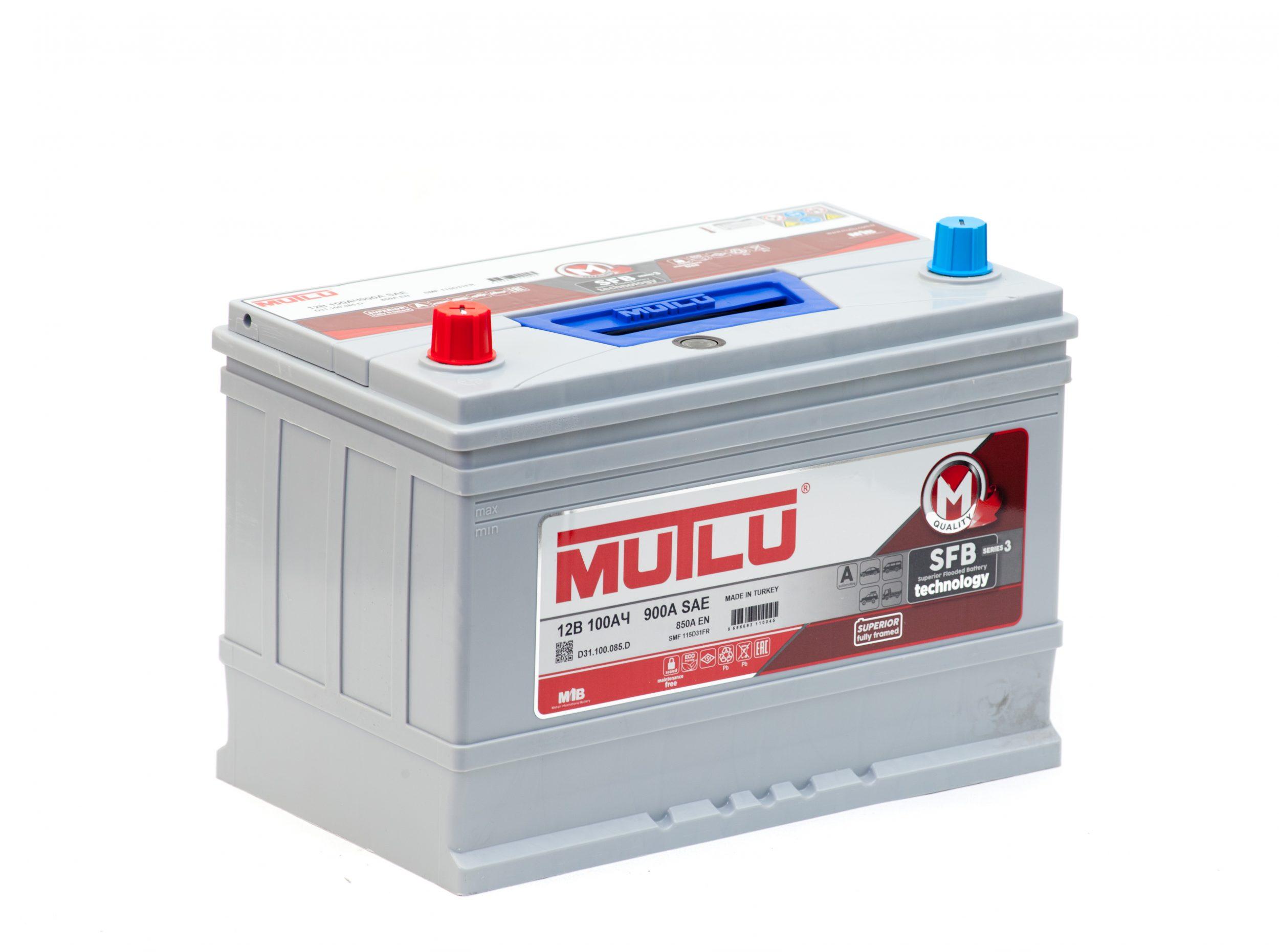 Купить аккумулятор MUTLU 6СТ-100.1 (115D31FR) в Волгограде