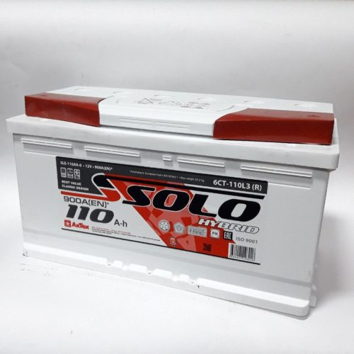 Купить аккумулятор SOLO 6СТ-110 оп в Волгограде