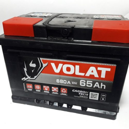 Купить аккумулятор VOLAT 6СТ-65 в Волгограде
