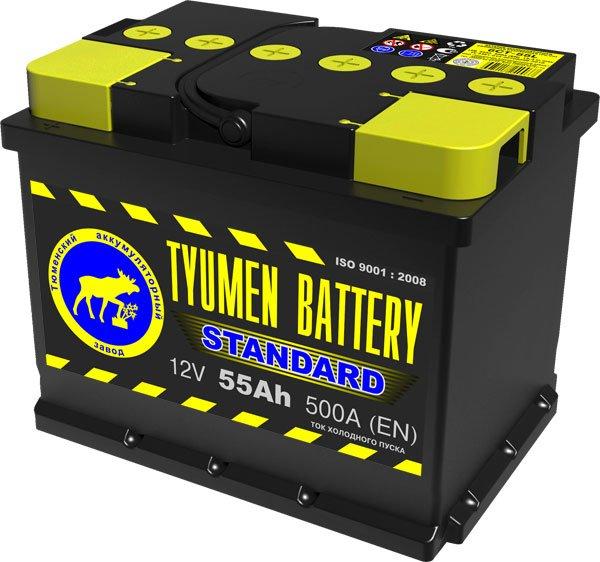 Купить аккумуляторы TYUMEN BATTERY Standart в Волгограде