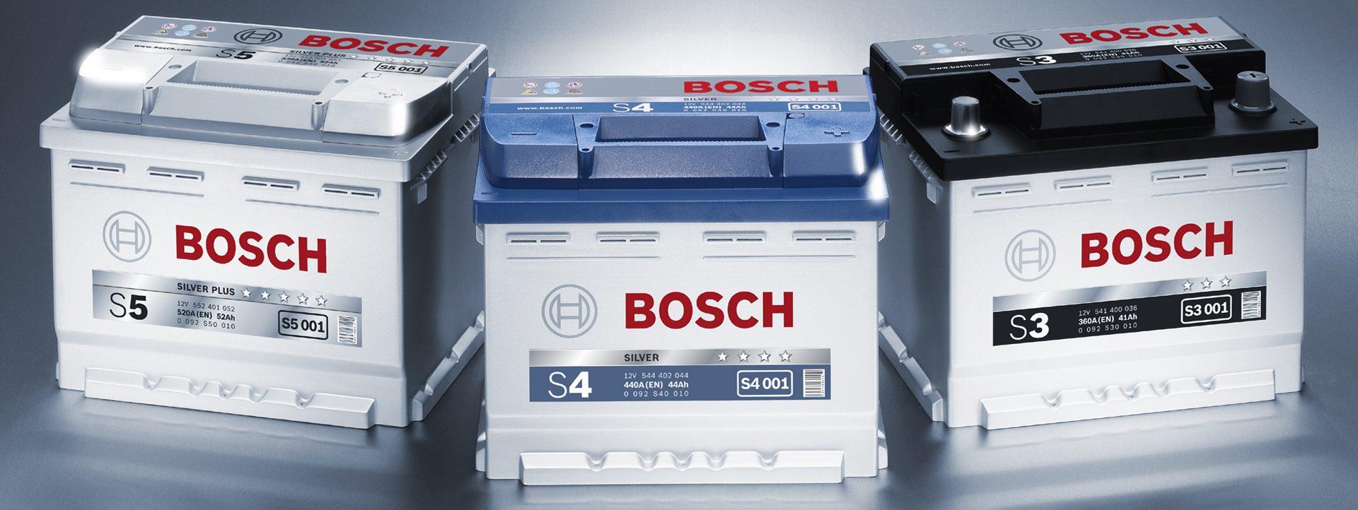 Купить аккумуляторы BOSCH в Волгограде