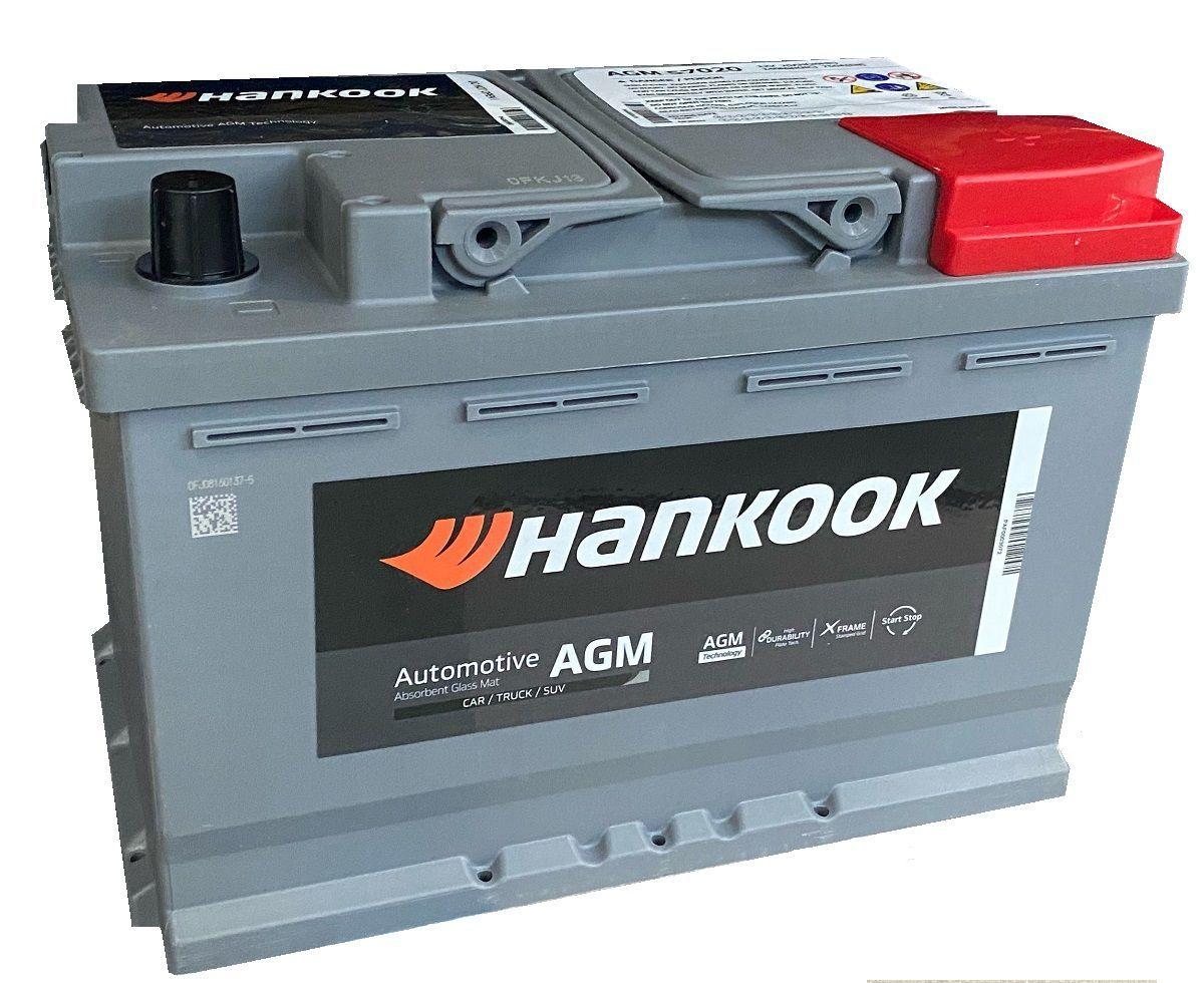 Аккумулятор HANKOOK 6СТ-70.0 AGM SA 57020 купить в Волгограде