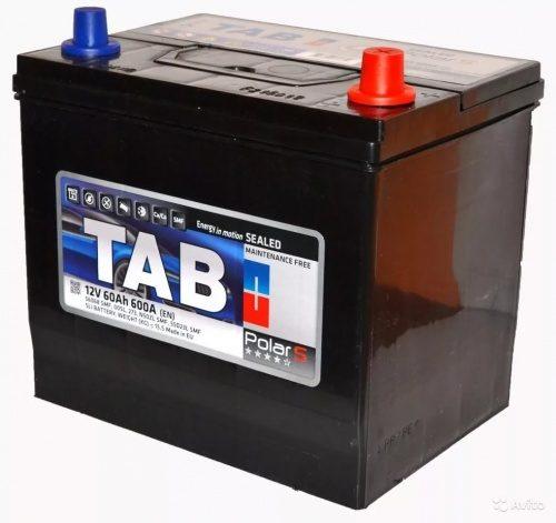Аккумулятор TAB 6СТ-60 56068 азия купить в Волгограде