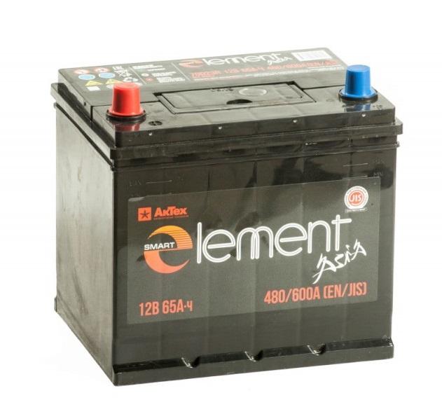 Аккумулятор Smart ELEMENT 6СТ-65 о.п. азия купить в Волгограде