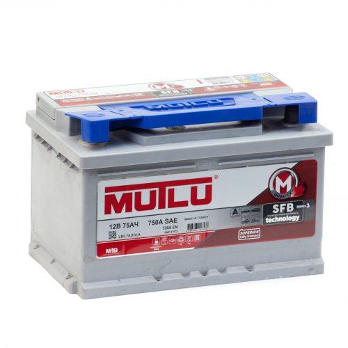 Аккумулятор MUTLU M3 6СТ-75 купить в Волгограде