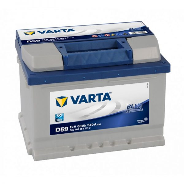 Аккумулятор Varta 6СТ-60 560 409 054 Blue Dynamic купить в Волгограде