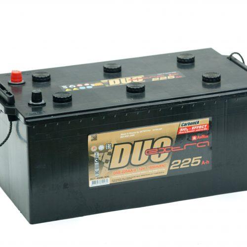 Аккумулятор DUO EXTRA 6СТ-225 евро купить в Волгограде