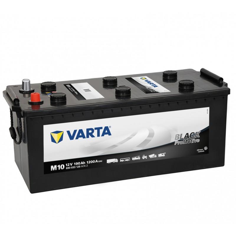 Аккумулятор Varta 6СТ-190 690 033 120 Promotive Black купить в Волгограде