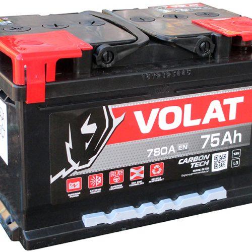 Аккумулятор VOLAT 6СТ-75 низкий купить в Волгограде