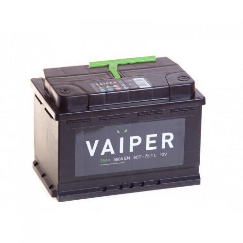 Аккумулятор VAIPER 6СТ-75