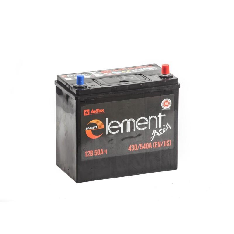 Аккумулятор Smart ELEMENT 6СТ-50 азия купить в Волгограде