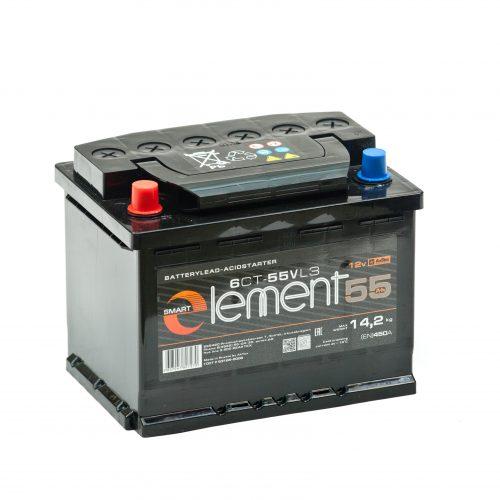 Аккумулятор Smart ELEMENT 6СТ-55 купить в Волгограде