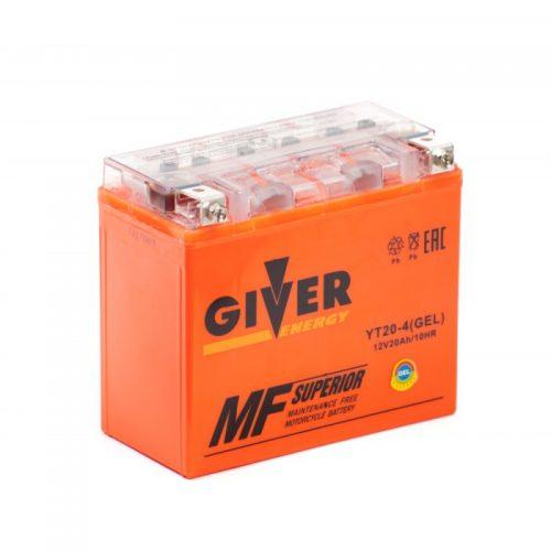 Аккумулятор GIVER ENERGY YT20-4 купить в Волгограде