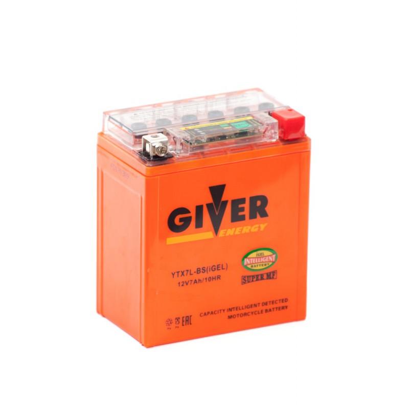 Аккумулятор GIVER ENERGY YTX7L-BS купить в Волгограде