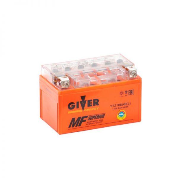 Аккумулятор GIVER ENERGY YTZ10S купить в Волгограде