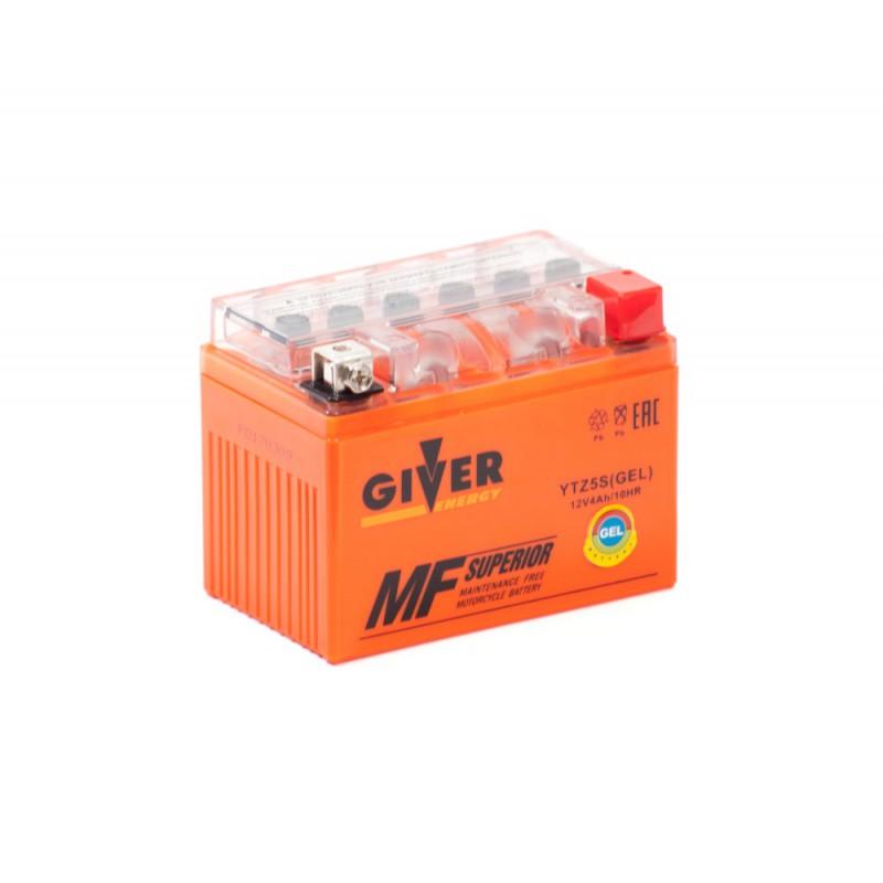 Аккумулятор GIVER ENERGY YTZ5S купить в Волгограде