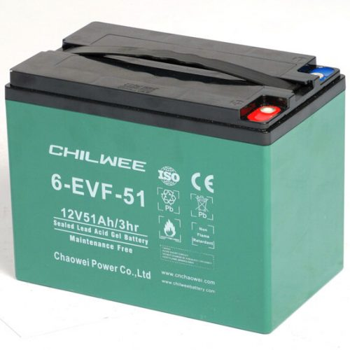 Аккумулятор тяговый CHILWEE 6-EVF-51 купить в Волгограде