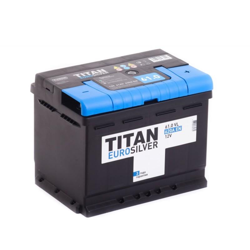 Аккумулятор TITAN Euro Silver 6СТ-61.0 купить в Волгограде