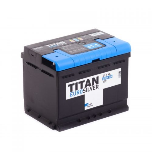 Аккумулятор TITAN Euro Silver 6СТ-61.1 купить в Волгограде