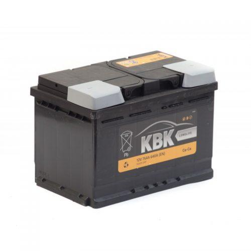 Аккумулятор KBK 6СТ-75.0 купить в Волгограде