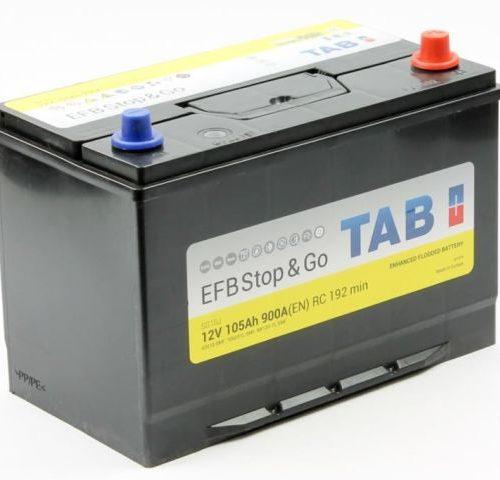 Аккумулятор TAB EFB Stop&Go 6СТ-105.0 (60518) купить в Волгограде