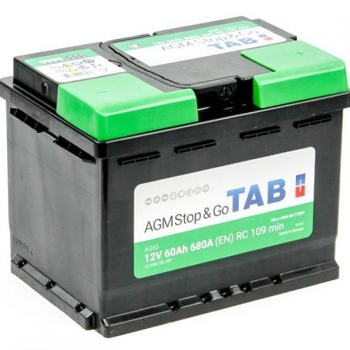Аккумулятор TAB AGM Stop&Go 6СТ-60.0 купить в Волгограде