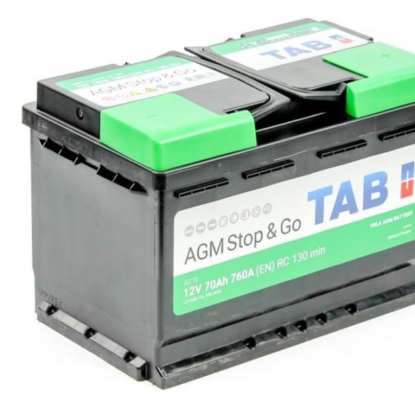 Аккумулятор TAB AGM Stop&Go 6СТ-70.0 купить в Волгограде