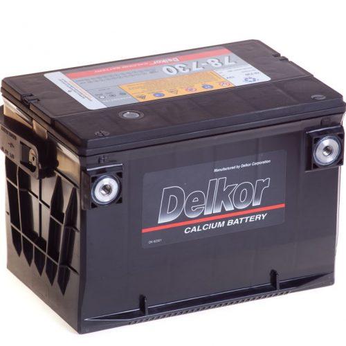 Аккумулятор DELKOR 78-730 бок.кл купить в Волгограде