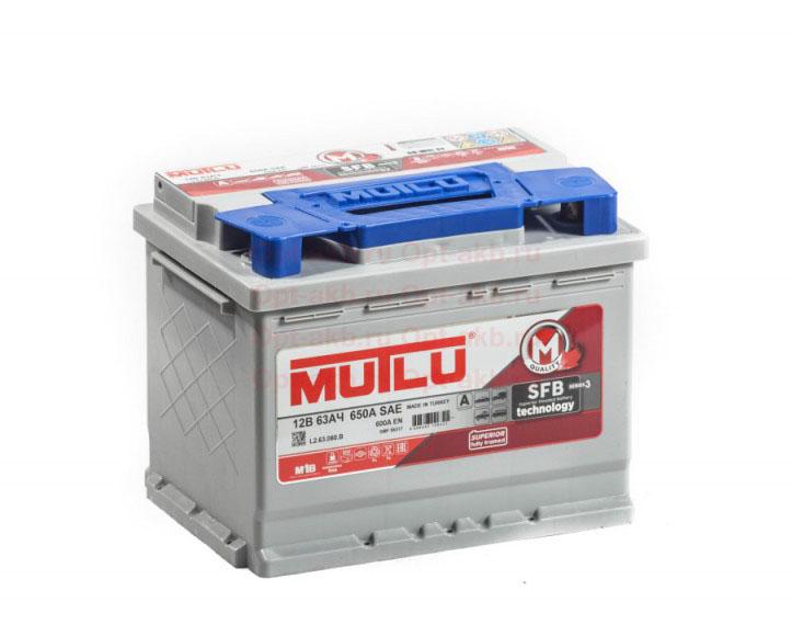 Аккумулятор MUTLU M3 6СТ-63.0 купить в Волгограде