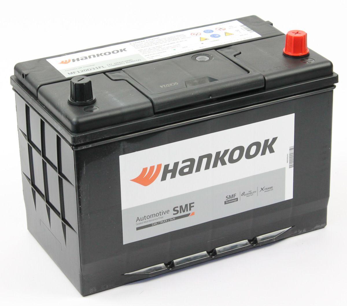 Аккумулятор HANKOOK 6СТ-100.0 (120D31L) купить в Волгограде