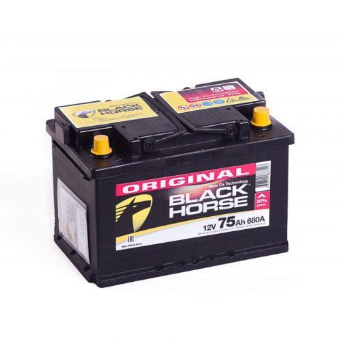 Аккумулятор Black Horse 6СТ-75.0 низкий купить в Волгограде