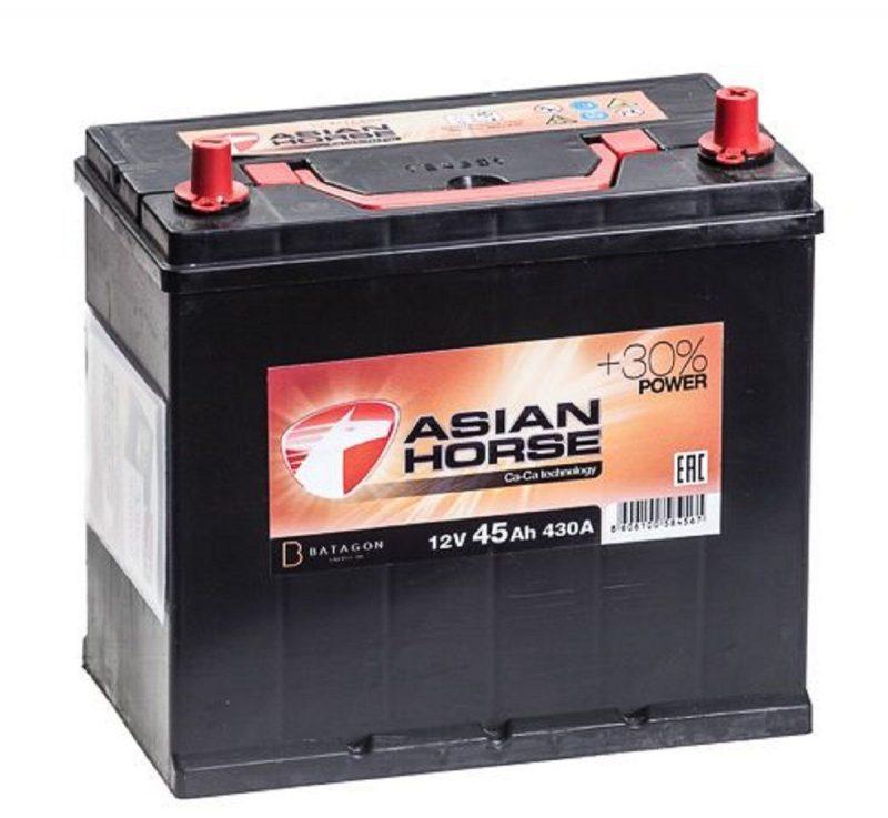Аккумулятор Asian Horse 6СТ-45.0 купить в Волгограде