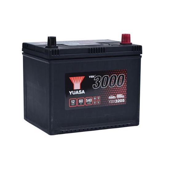 Аккумулятор YUASA 6СТ-60.0 YBX3205 60D23L купить в Волгограде