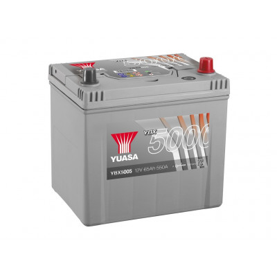 Аккумулятор YUASA 6СТ-65.0 YBX5005 75D23L купить в Волгограде