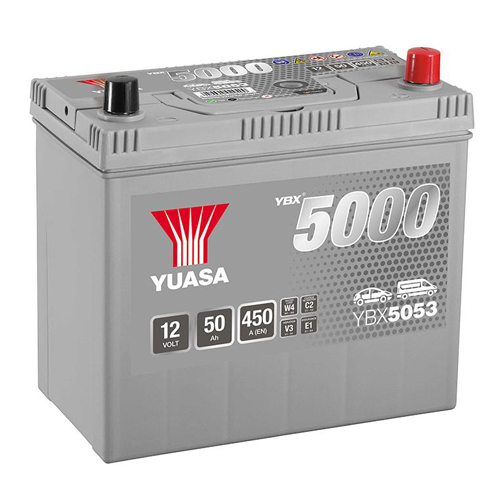 Аккумулятор YUASA 6СТ-50.0 YBX5053 60B24L купить в Волгограде