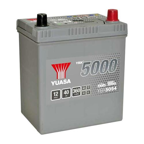 Аккумулятор YUASA 6СТ-40.0 YBX5054 44B19L купить в Волгограде