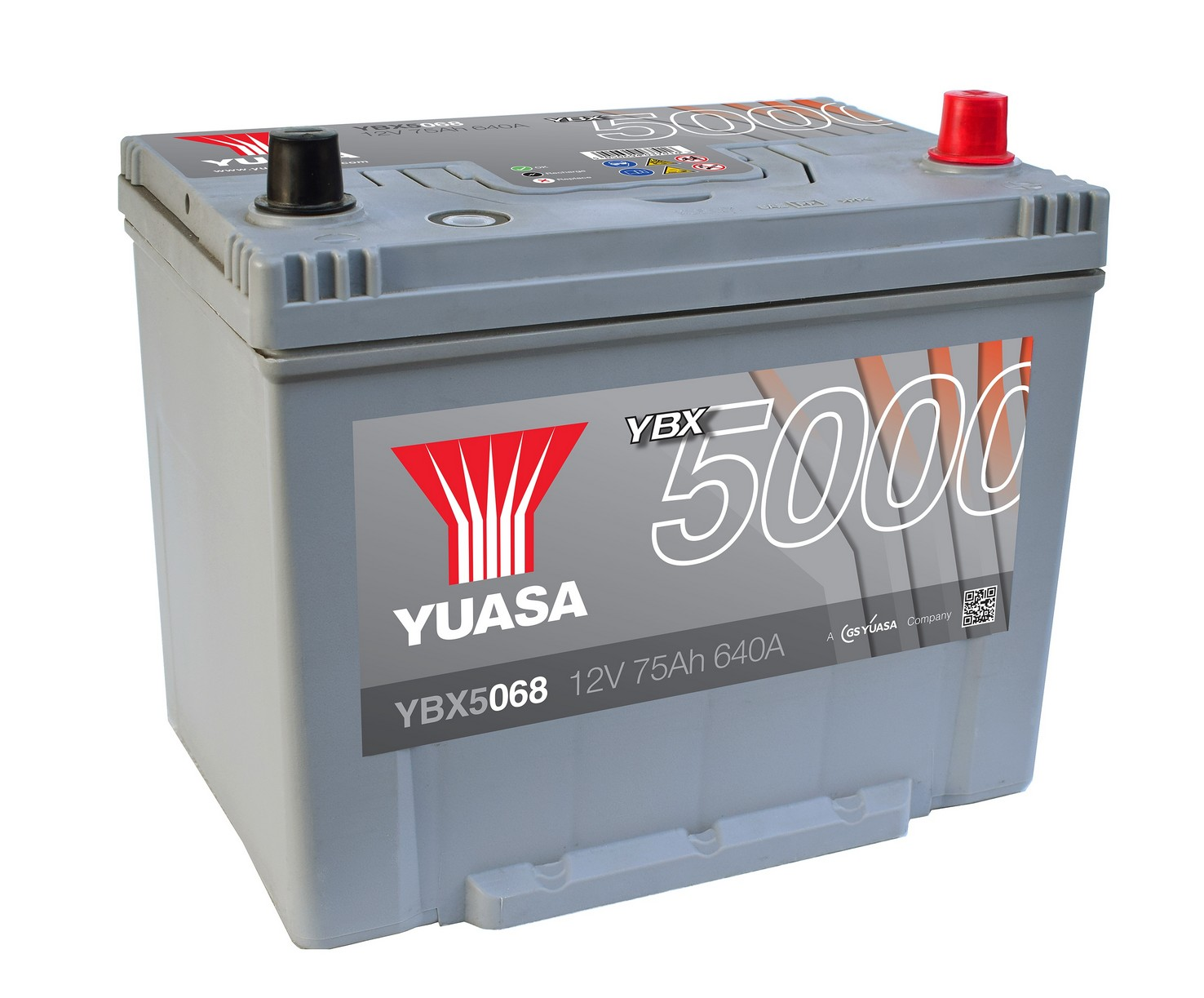 Аккумулятор YUASA 6СТ-75.0 YBX5058 90D26L купить в Волгограде