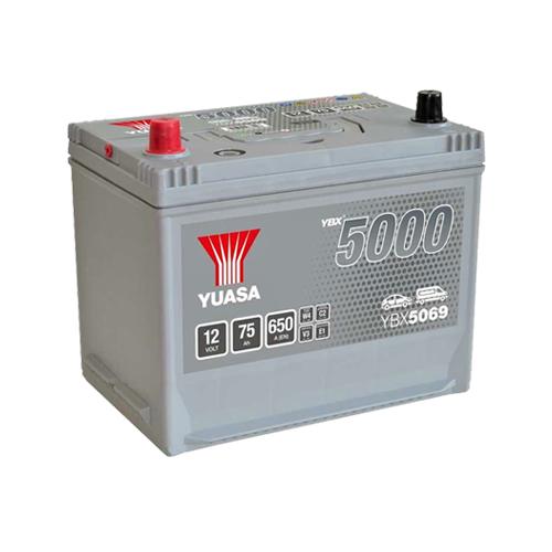Аккумулятор YUASA 6СТ-75.1 YBX5059 90D26R купить в Волгограде